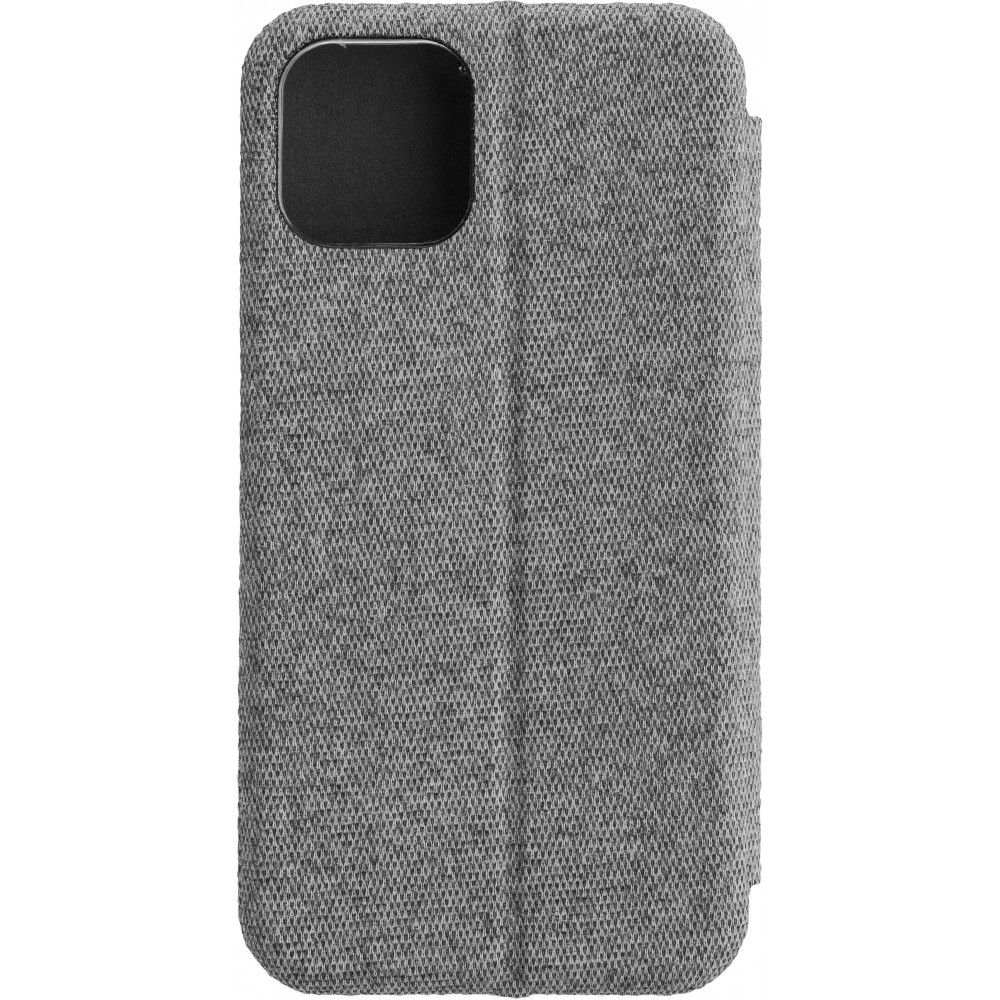 COMMANDER Book Case CURVE für Apple iPhone 11 Pro Suit Elegant Gray