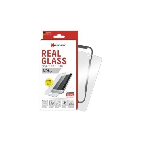 DISPLEX Real Glass + Frame für Apple iPhone 6/7/8