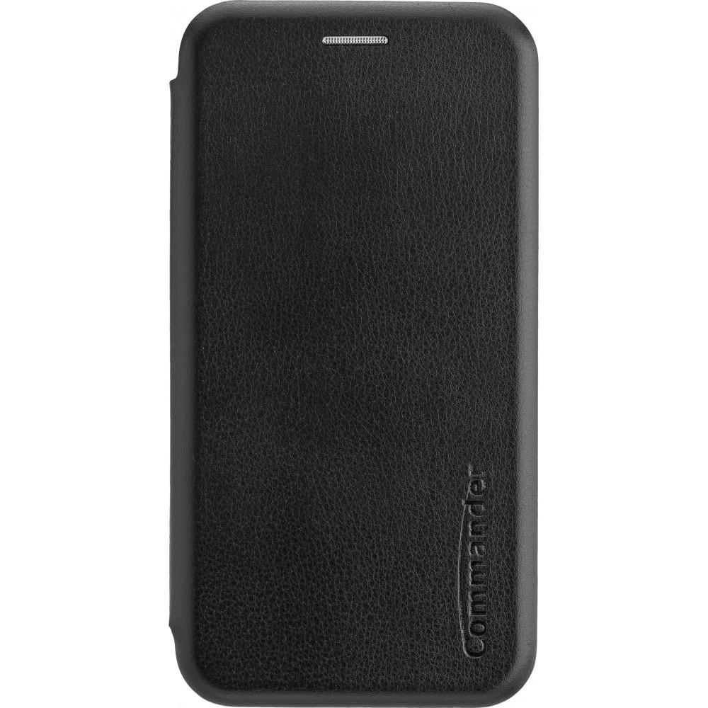 COMMANDER Book Case CURVE für Apple iPhone 12 Mini Black