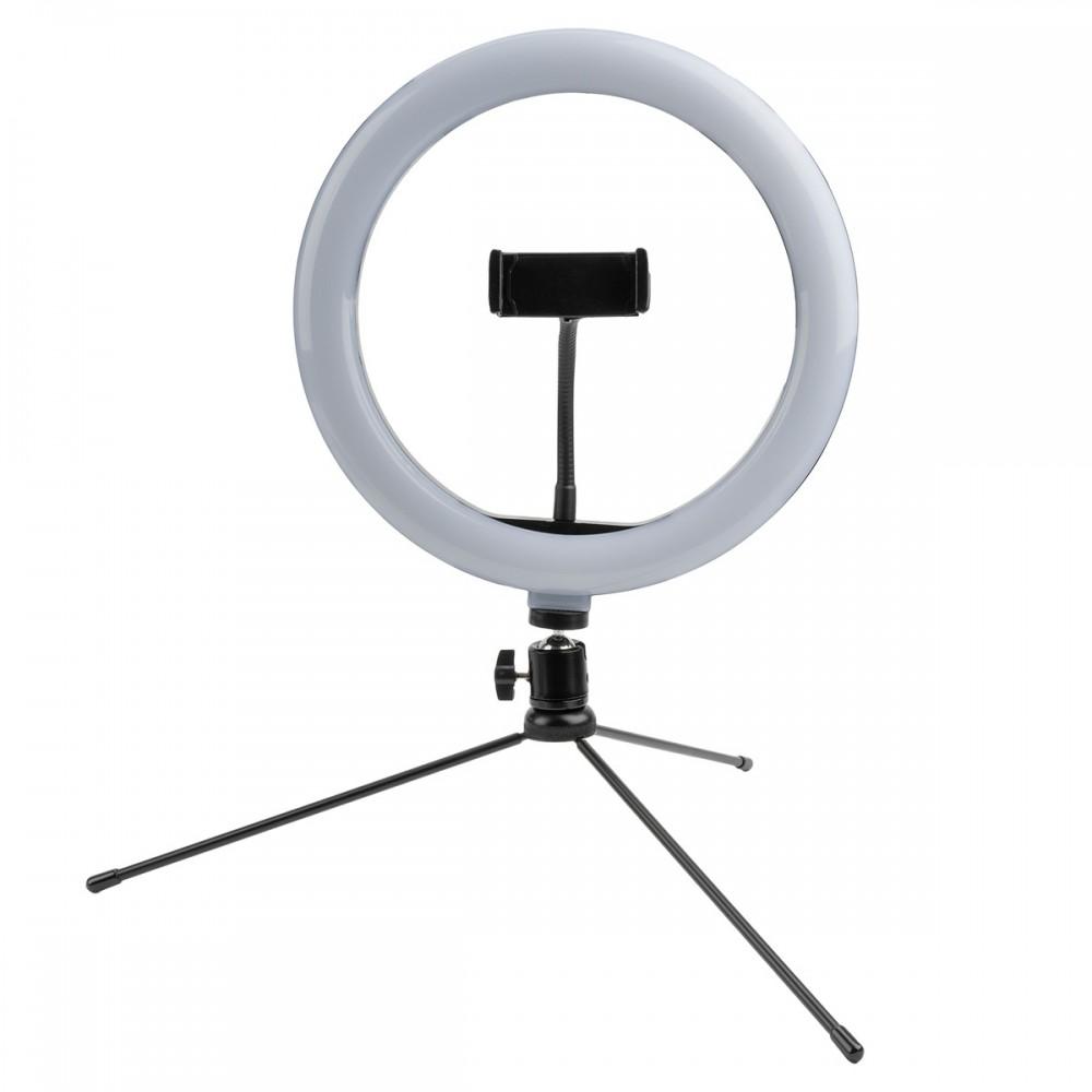 4smarts Selfie Tripod mit LED-Lampe LoomiPod Mini schwarz