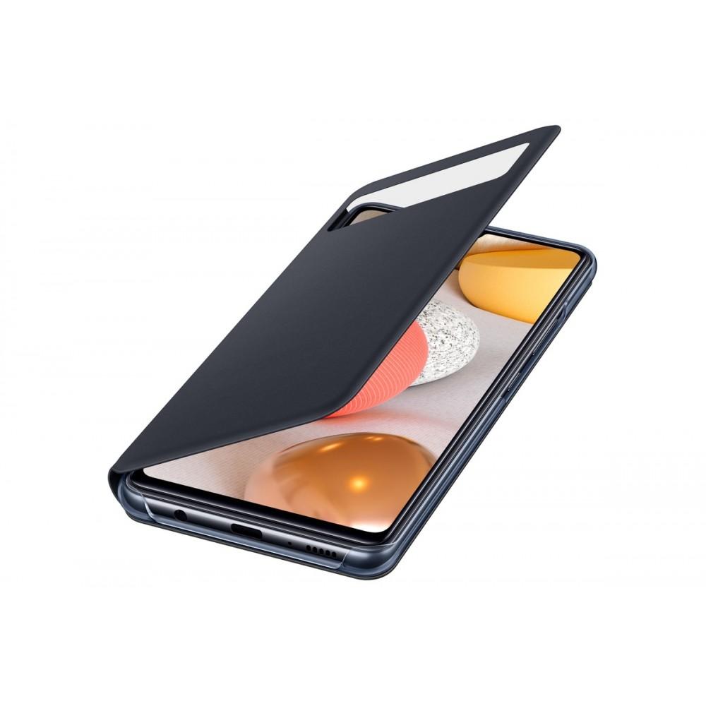 Samsung S View Wallet Cover EF-EA426 für Galaxy A42, Black